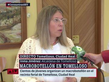 La alcaldesa de Tomelloso, Inmaculada Jiménez