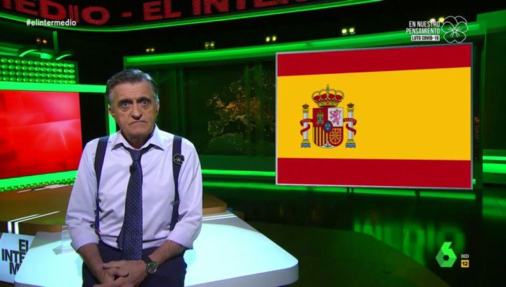 """Wyoming regresa al plató de El Intermedio con una dura reflexión: """"Españoles, estamos jodidos, es hora de luchar por una España mejor"""""""