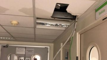 Desperfectos en la Unidad de Cuidadanos Intensivos del Hospital de La Paz