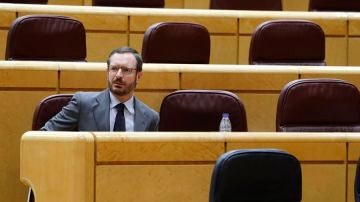 El portavoz del grupo popular en el Senado, Javier Maroto.
