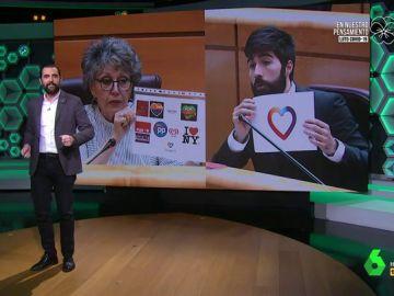 """El 'mensaje subliminal' que esconde el crespón de TVE según Vox: """"Nos han insultado al pensar que no nos íbamos a dar cuenta"""""""