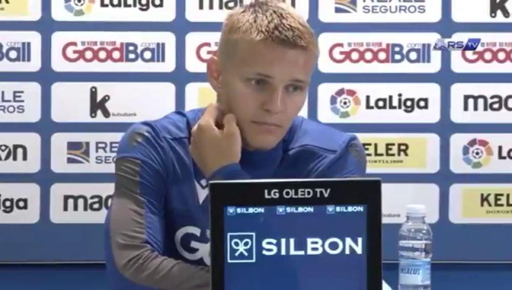 ¿Da Martin Odegaard por hecho que se queda en la Real Sociedad?