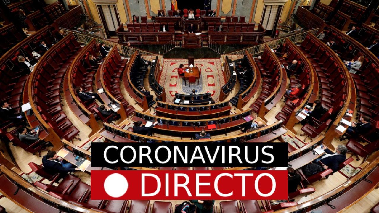 Prórroga del estado de alarma por coronavirus en España: Casos, muertos y noticias de hoy, en directo