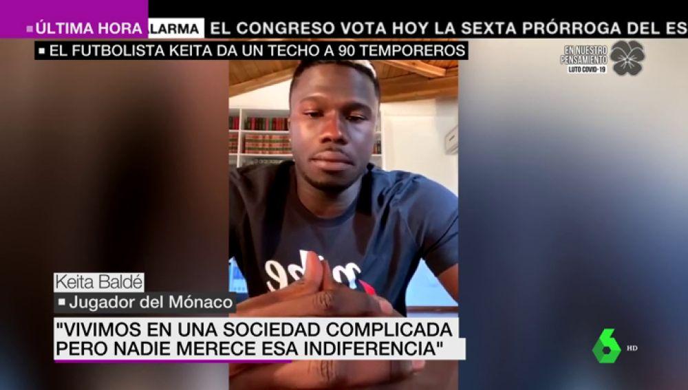 Keita Baldé alquila un edificio para 60 temporeros que fueron rechazados por hoteles y albergues de Lleida