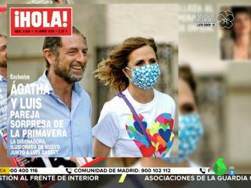 Ágatha Ruiz de la Prada, ilusionada con Luis Gasset, la nueva pareja de la diseñadora