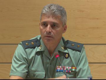 El teniente coronel David Blanes González