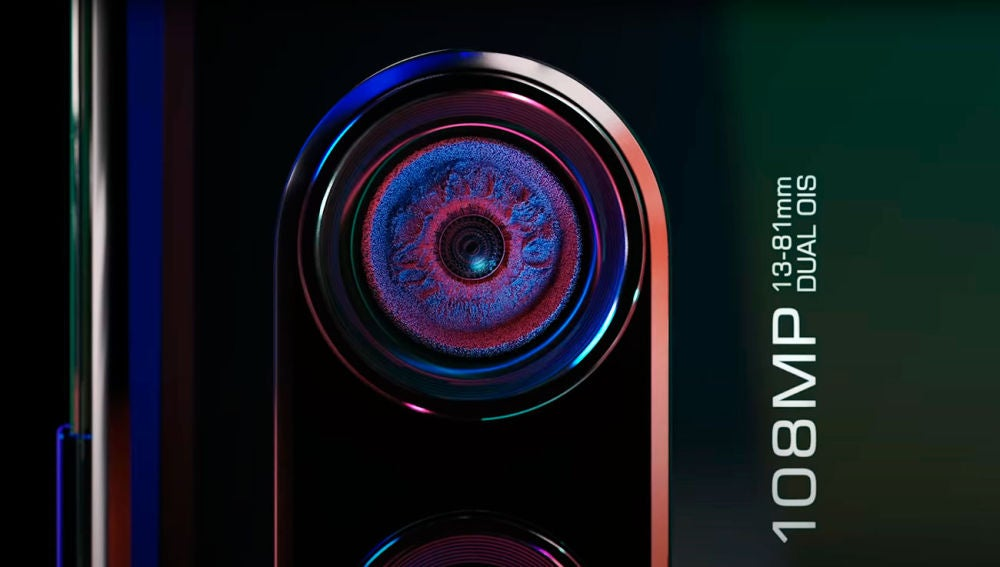 Cámara del Motorola Edge Plus