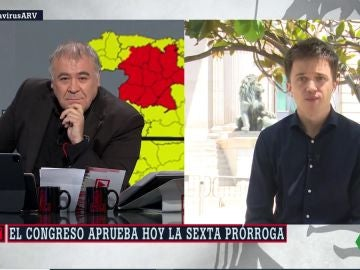 Íñigo Errejón, en ARV