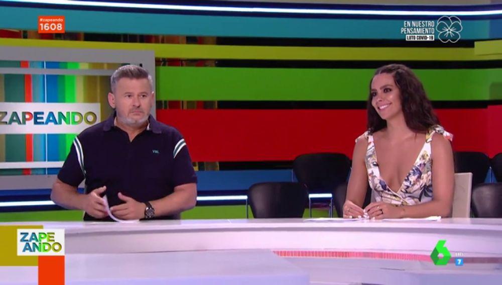 Miki Nadal y Cristina Pedroche