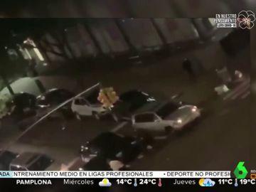 El espectacular atropello a la Policía durante los disturbios y saqueos en Nueva York por la muerte de George Floyd