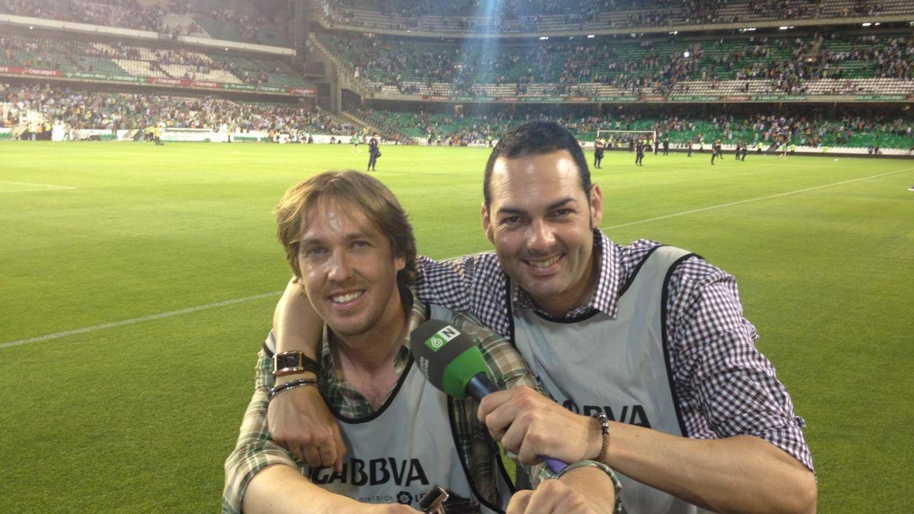 Juanma Linares y Leandro Iglesias