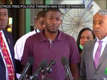 """Las duras palabras del hijo de George Floyd: """"Mi padre no debería haber sido asesinado así, nos merecemos justicia"""""""