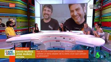 Así ha sido la broma de Estopa con guiño a Dabiz Muñoz en Zapeando