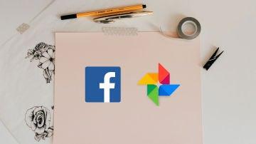 Facebook y Google Fotos