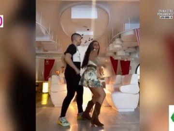 El sensual baile de Cristina Pedroche y Dabiz Muñoz en Tik Tok con final inesperado