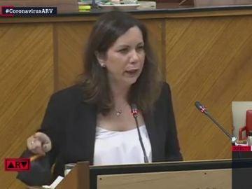 Ángela Mulas, diputada de Vox en el Parlamento de Andalucía