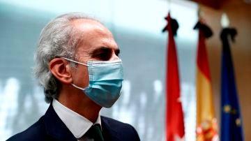 El consejero de Sanidad de Madrid, Enrique Ruiz Escudero