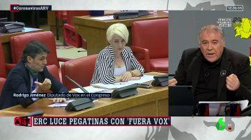 Montan bronca por una pegatina contra Vox en un debate en el Congreso sobre la grave crisis económica