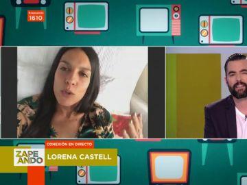 """Lorena Castell sufre un accidente que le impide estar en plató: """"Me he matado"""""""