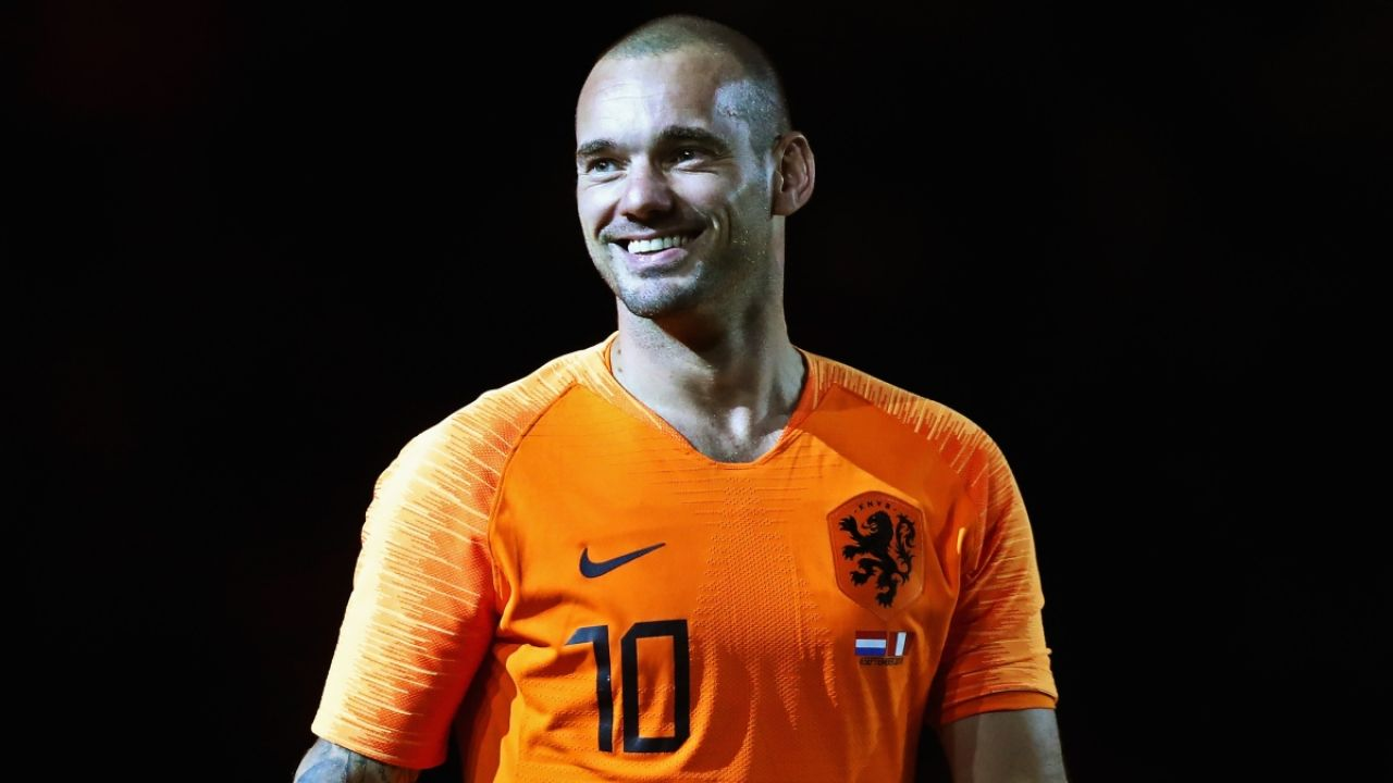 Sneijder, con Holanda