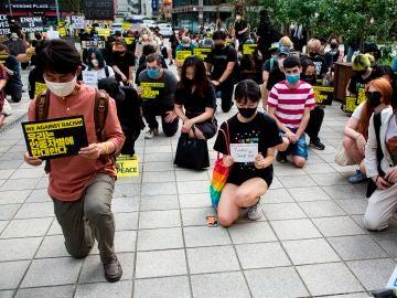Protestas contra el racismo en Corea del Sur