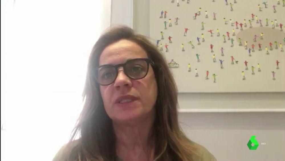 Yolanda, hija de un fallecido en una residencia de mayores de Madrid