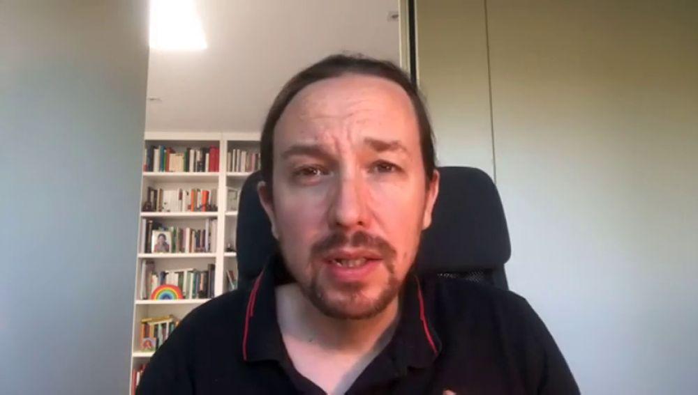 Imagen de Pablo Iglesias, secretario general de Podemos