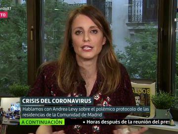 Andrea Levy, delegada de Cultura en Madrid