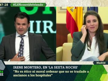 Irene Montero, en laSexta NOche