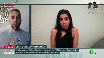 Rubén Sánchez, portavoz de Facua, responde a las dudas de los consumidores por la crisis del coronavirus