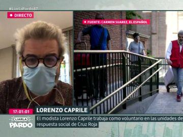 """Lorenzo Caprile, sobre las mascarillas de alta costura: """"No me voy a subir al carro de la mascarilla firmada por mí, me parece superficial"""""""