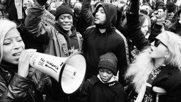 Madonna participa en las protestas de Londres por la muerte de George Floyd