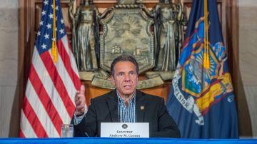 El gobernador de NY, Andrew Cuomo