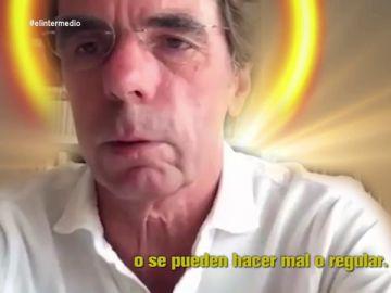 """Así 'defiende' Aznar el Ingreso Mínimo Vital: """"Nuestra obligación es ayudar al que lo necesita de manera temporal"""""""