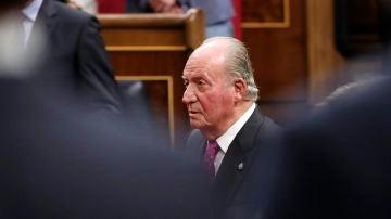 El Rey Juan Carlos, en el Congreso