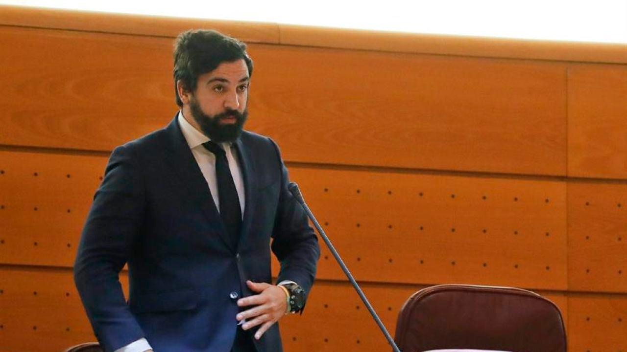 El senador de Vox, Jacobo González-Robatto