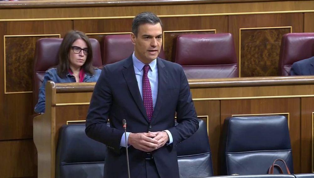 """Sánchez acusa a Casado de usar el coronavirus para """"derrocar a un Gobierno legítimo"""""""