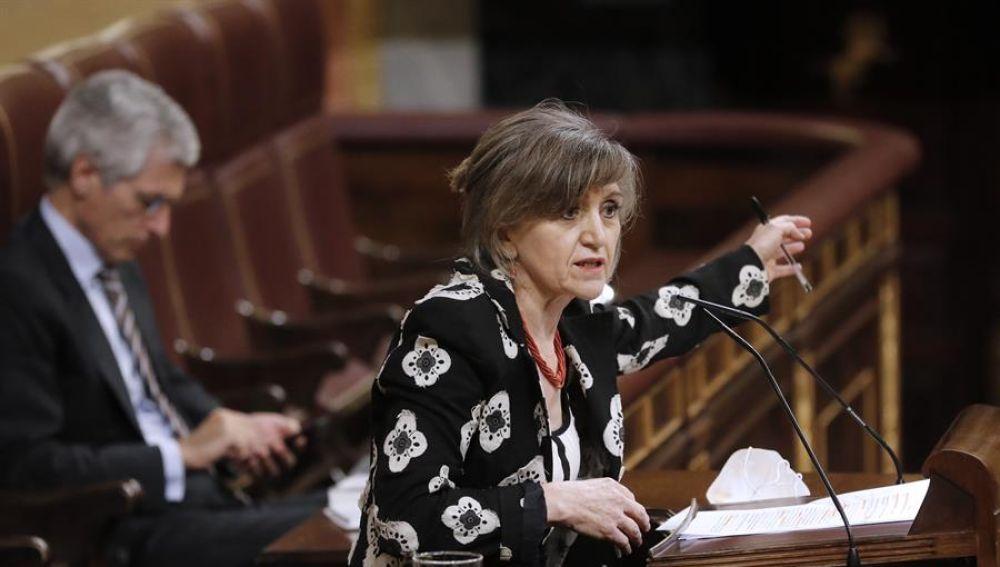 María Luisa Carcedo defiende el Ingreso Mínimo Vital en el Congreso de los Diputados