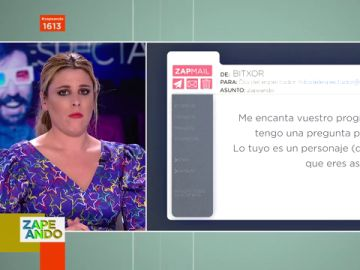 "Valeria Ros responde a las críticas de un espectador: ""Para ti es tontuna, para mi abuela soy encantadora"""