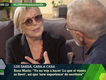"""La reflexión de Rosa María Sardá sobre la vida: """"Un día me levanté y vi que era una vieja, es muy duro"""""""