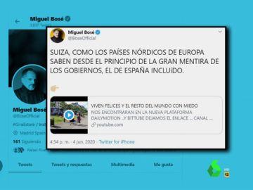 """Del """"negacionismo con el coronavirus"""" a """"los microchips y el polvo inteligente"""": las declaraciones de Miguel Bosé sobre la pandemia"""