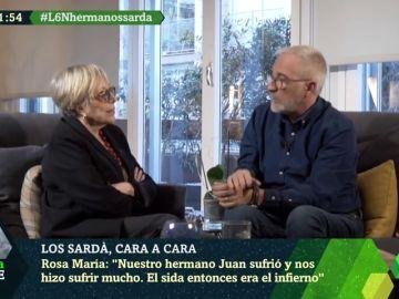 El sufrimiento de Rosa María Sardà y Xavier Sardà al enterarse de que su hermano tenía sida