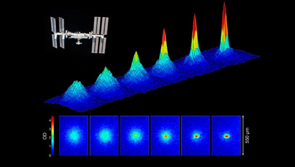 Generado en el espacio el quinto estado de la materia el condensado de Bose Einstein