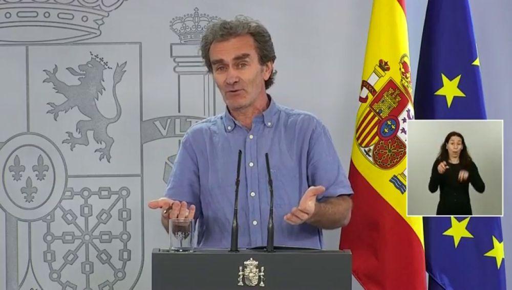 Fernando Simón en rueda de prensa