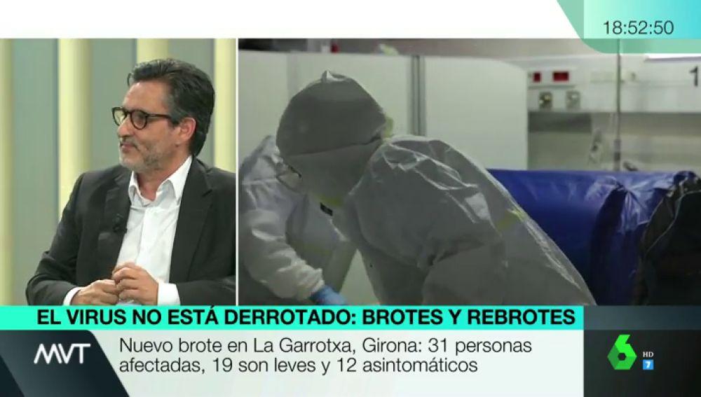 """La reivindicación del director del Hospital Clínico de Madrid: """"No se puede tener una sanidad de primera a precios de tercera"""""""