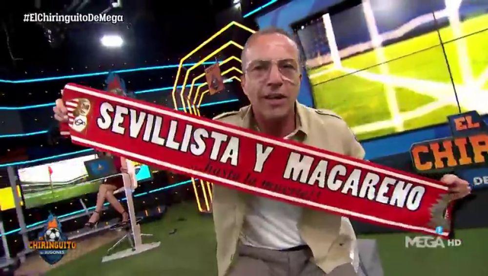 """El Cristóbal Soria más provocador: """"¡Le hemos cortado la racha al Real Betis de tres meses sin perder!"""""""