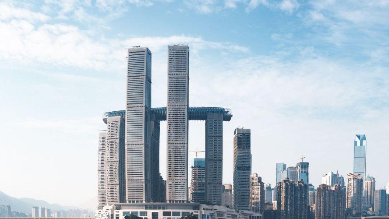 Imagen de The Crystal, el primer rascacielos horizontal