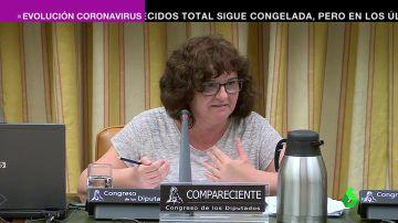 Yolanda García, portavoz de las 'Kellys' de Benidorm