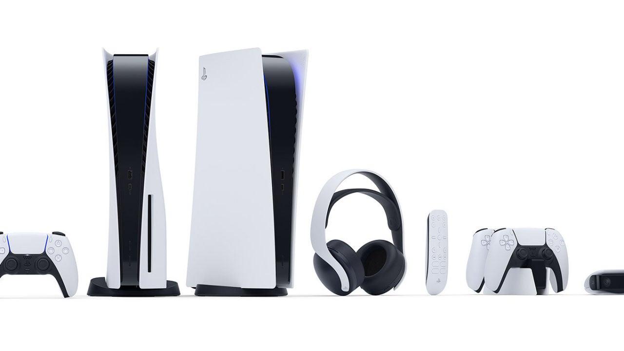 PlayStation 5, junto a sus accesorios