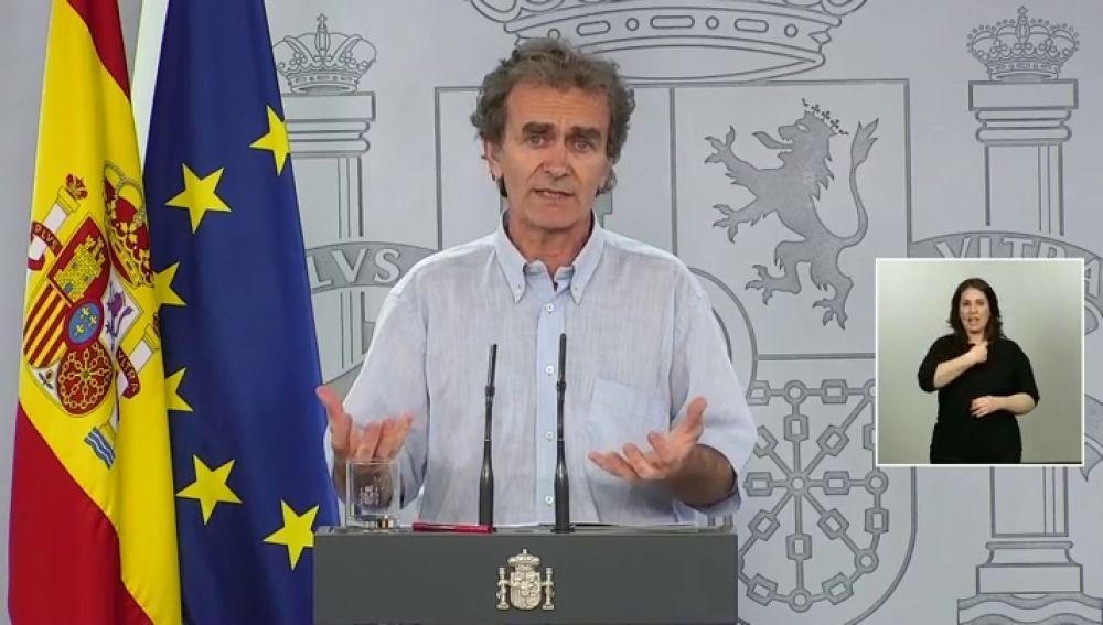 El director del Centro de Alertas Sanitarias, Fernando Simón